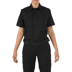 5.11 Tactical 61018 WOMEN'S 5.11 STRYKE®, PDU® Class-B Uniform Short Sleeve Shirt, Badge Tab, Mic Loop, available in Black or Navy