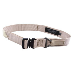 Blackhawk 41CQ Rigger's Belt with Cobra Buckle, available in Black, Coyote Tan, Desert Sand Brown, Multicam, and Olive Drab