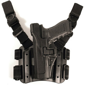 Blackhawk 4306 SERPA® Level 3 Tactical Holster, available in Black