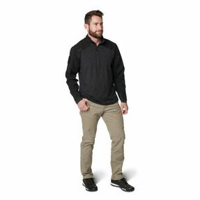 5.11 Tactical MEN'S PULLOVER RAPID 1/4 ZIP, Moisture wicking and  quick drying, This shirt is 92% polyester / 8% spandex torso, 91% polyester / 9% spandex sleeves, shoulders, and collar, Regular fit for comfort and flexibility, availible in Green, Bl
