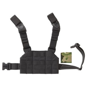 Blackhawk 37CL125 S.T.R.I.K.E.® Compact Drop-Leg Platform, Y-Harness Configuration with Heavy Duty Hanger Straps and Quick-Release Swivel Buckles, Black, Coyote Tan, Olive Drab, and MultiCam