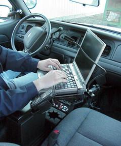 Impala Law Enforcement Laptop Stand Computer Mount