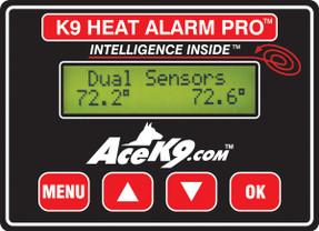 Havis K9-A-203 Law Enforcement K9 Dog Transport K9 Transport Heat Alarm Unit Option