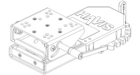 Swing Arm with Motion Adapter by Havis