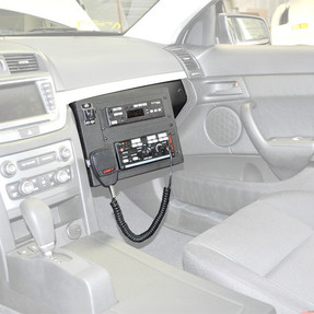 Caprice 9C3 Law Enforcement Glove Box Console by JottoDesk 2011-Present, includes faceplates and filler panels