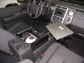 Expedition Console 12 Inch by Havis 2007-2019, includes faceplates and filler panels