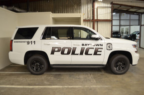 Tahoe Law Enforcement Vehicle Graphics Decal Kit FS-12