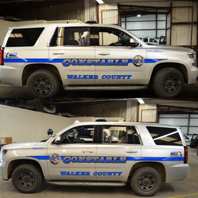 Tahoe Law Enforcement Vehicle Graphics Decal Kit FS-11