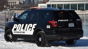 Law Enforcement Vehicle Graphics Decal Kit FS-22