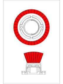 Whelen Vertex Directional Hideaway LED (VTXD609)