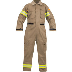 Propper® Extrication Suit, Flight-Suit aka Jumpsuit, with Padded knees and shins, Heavy Duty, available in Navy and Khaki F5141