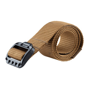 Tru-Spec  Security Friendly Tactical Belts, 100% Nylon Webbing With Black Buckle, Hidden pocket, available in coyote brown, black, olive drab and tan, 4082