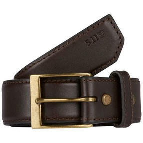 """5.11 Tactical 1.5"""" Leather Casual Belt, available in Black or Classic Brown 59501"""