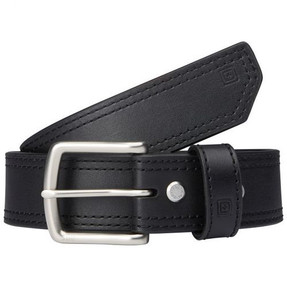 """5.11 Tactical 1.5"""" Arc Leather Casual Belt, available in Black or Classic Brown 59493"""