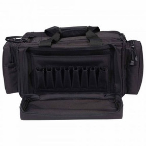 5.11 Tactical 59049 RANGE READY™ Gun, Ammo, and Duffel BAG 43L, Durable, all-weather 600D polyester, Drop-down front flap stores 8 magazines, Removable ammo and brass storage, Accessory pockets sized for optics and ear protection