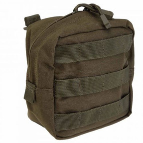 5.11 Tactical 6 X 6 POUCH, N500D body, Molded grip pull for gloved accessibility, provides lightweight all-weather storage, 58713