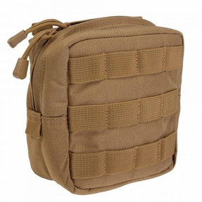 5.11 Tactical 6 X 6 PADDED POUCH, N500D, Fully padded interior, Molded grip pulls for gloved accessibility, 58714