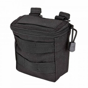5.11 Tactical VTAC® SHOTGUN AMMO POUCH, 1050D Nylon, Holds one standard box of shotgun rounds, Overlapping elastic top keeps rounds secure, 56119