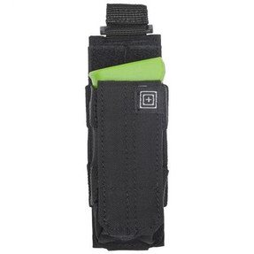 5.11 Tactical 56154 PISTOL BUNGEE/COVER, N500D body/ N1050D base, All-weather reliability, Elastic band compression for stability and noise reduction, available in Black, TAC OD Green, and Sandstone Tan/Brown
