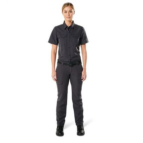 5.11 Tactical 61314 WOMEN'S FAST-TAC™ SHORT SLEEVE SHIRT, Water-Resistant Finish, 2 Chest Pocket, 100% Polyester Fast-Tac™ Ripstop,