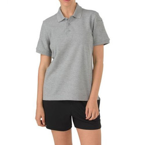 5.11 Tactical 61173 WOMEN'S UTILITY SHORT SLEEVE POLO SHIRT, 60% Cotton / 40% Polyester Fabric, Pen Pocket at the Sleeve, Fade, Shrink, and Wrinkle-Resistant, Three-Button Placket