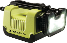 Pelican 9455 Remote Area Light, Rechargeable Battery, Hi Vis Yellow