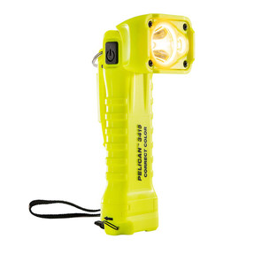 Pelican Right Angle LED Light, With 3 modes: Spot, Flood or Both, 258 Lumens, High Visibility Yellow 3415MCC, Quantities of 6