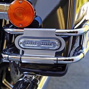 Whelen IONHDRS Harley-Davidson® Road King® 2014-2018 Rear Saddle Bag Mounting Kit for use with 1 Surface Mount ION™ Lighthead