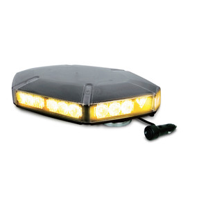 Brooking Industries FE3 10 Falcon Series 30-Diode Clear Lens Mini LED Lightbars, 17x11x3, with Lightbar option, Includes Magnetic and Permanent Mount, Optional Mount, Available in Amber, Blue, Green, Red, and White