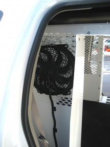 "Havis K9-A-301 Law Enforcement K9 Dog Kennel Transport Fan Option for Heat Alarm Hot-N-Pop Unit, Comes with 10"" Air Circulation Fan"