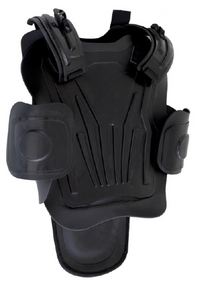 Paulson LBA-55 Delux Full Body Protection Riot body suit that protects the torso, thighs, groin, arms, and legs. One size fits most