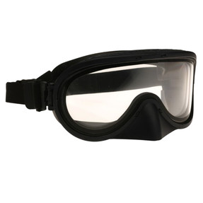 Paulson A-TAC 510-TN Protective Tactical Goggle with Nose Shield, and polycarbonate dual lens, hard coated outer lens/anti-fog inner lens.  Quick Strap elastic adjustment. Mounting clips for PASGT helmets included with each goggle.