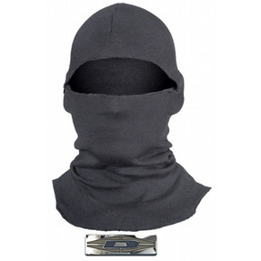 Damascus NOMEX® LIGHTWEIGHT HOOD NH50L, Law Enforcement Riot Gear with 3 ounce 100% DuPont® Nomex,  heat and flame protection, fire retardant material that will not sustain a flame, one size fits all, 18 inch length
