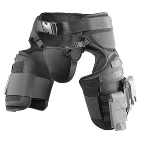 Damascus TG40 IMPERIAL™ Law Enforcement and Riot Gear, Groin and Thigh Protection with Molle System, Lightweight cellular EVA foam padding, adjustable padded groin protector, compliments the DCP2000 and DFX2 Imperial Protection Systems, Non-ballistic