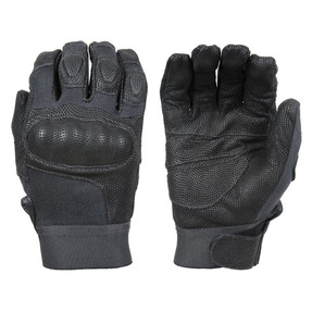 Damascus DMZ33 NITRO™ - Law Enforcement Riot Gear with  CUT RESISTANT DIGITAL LEATHER & CARBON-TEK™ FIBER KNUCKLES, Tactical Gloves DuPont™ Kevlar® fiber is flame/flash retardant as well as cut protective