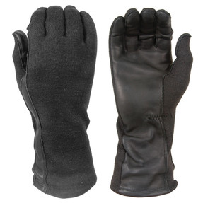 Damascus DNXF190-B, Law Enforcement Riot Gear,  FLIGHT GLOVES WITH NOMEX® AND LEATHER PALMS, Tactical Gloves with DuPont Nomex® fabric and thread, Flame and flash protective to 800˚F (427˚C), made to the standard of U.S. Mil Spec