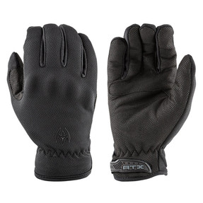 Damascus Law Enforcement Riot Gear ATX100 SPECIALIZED DUTY GLOVES, 100% 9oz. DuPont™ Kevlar® fiber, Tactical Gloves with elasticized wrist with a hook and loop closure, Lightweight cut resistant patrol gloves, Kevlar lined palm