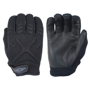 Damascus Law Enforcement Riot Gear INTERCEPTOR X™ - MX30 MEDIUM WEIGHT DUTY GLOVES, NEW Ergo wrist cuff design, Ventilated air mesh at wrists, Multi-use Gloves, with reinforced lightly padded design on backs of hands, Full Leather Palm
