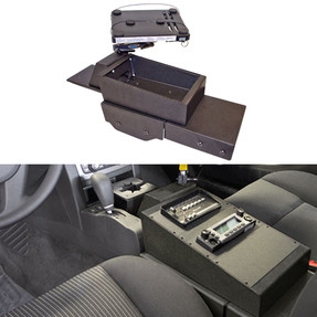 Jotto Desk 425-6693 2011-2013 Chevy Caprice 9C1 MDC Equipment Console, includes faceplates and filler panels