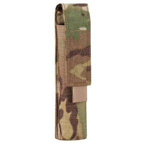 Propper® Flashlight Pouch Top loading MOLLE pouch holds flashlight secured with hook and loop closure and pull tab. F3470-2V