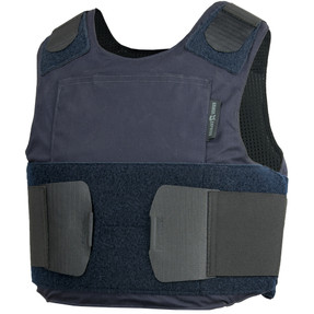 Armor Express ® Equinox GC Men's Concealable  Ballistic Body Armor Carrier, a traditional polycotton,  with moisture-wicking, microbial  inner liner. Choose Carrier only or Carrier and Panels (Soft Armor), NIJ Certified - Level 2, or Level 3A Threat
