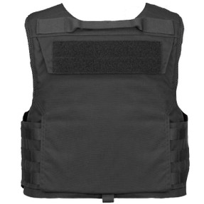 Armor Express ® Traverse Men's Overt Ballistic Body Armor Patrol Carrier, Front Zipper Side Opening, Optional Slick Configuration, Choose Carrier or Carrier and Panels (Soft Armor), NIJ Certified - Level 2, or Level 3A Threat Level