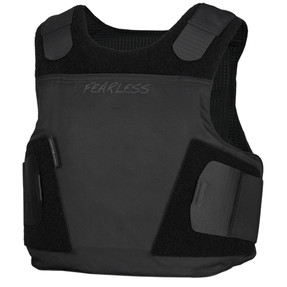 Armor Express ® Fearless Female Concealable Ballistic Body Armor Carriers, Choose Carrier only or Carrier and Panels, NIJ Certified - Level 2, or Level 3A Threat Level - featuring a proprietary yoke design aiding in comfort and concealment