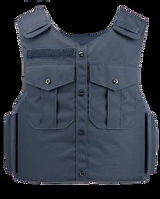 Armor Express ® Dress Vest CE Men's Overt Ballistic Body Armor Carrier, blends with the uniform shirt and has an internal elastic cummerbund-Choose Carrier only or Carrier and Panels (Soft Armor), NIJ Certified-Level 2, or Level 3A Threat Levels