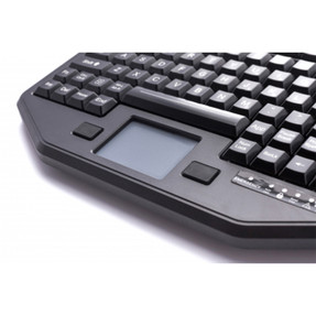 Gamber Johnson 7300-0180 iKey Full Travel Keyboard with Integrated Touchpad, Humidity Resistant