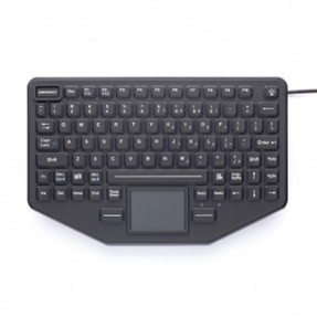 Gamber Johnson 7300-0034 iKey Mountable Keyboard with Touchpad, Emergency Key, and Humidity Resistant