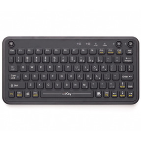 Gamber Johnson 7300-0029 iKey Rechargeable Bluetooth® Keyboard comatible for Windows and Android with Humidity Resistant
