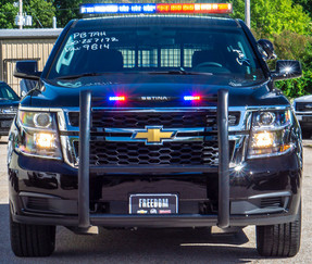 New 2020 Black Tahoe 4x4 SSV  V8, ready to be built as a Marked Patrol Package, choose any color LEDs, 4WD, + Delivery