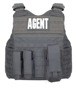 Armor Express ® Hard Core SU Men's Overt Ballistic Body Armor Carrier, With reinforced carry handles and a Dynamic Cummerbund System with soft armor pockets-Carrier only or Carrier and Panels (Soft Armor), NIJ Certified - Level 2, or Level 3A Threat