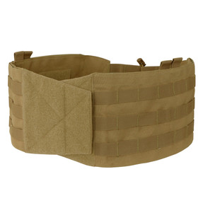 Condor 221123 VAS Moldular Tactical Cummerbund, 2PCS/PACK, Shock-cord and cord lock included, available in Black, Olive Drab and Coyote Brown